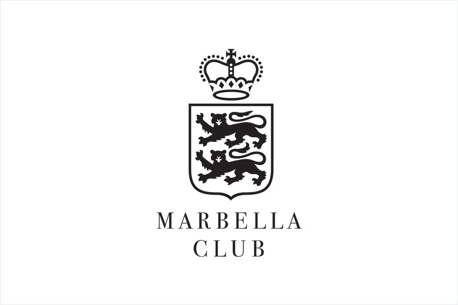 Logo designed by Pentagram for Spanish hotel, golf club and spa resort Marbella Club