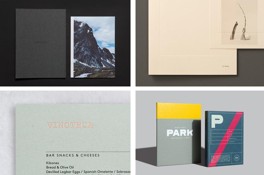 Menu Design – The Best of BP&O