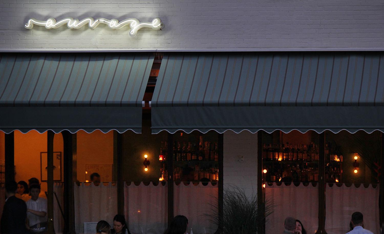 Neon Sign Design – Sauvage by Triboro