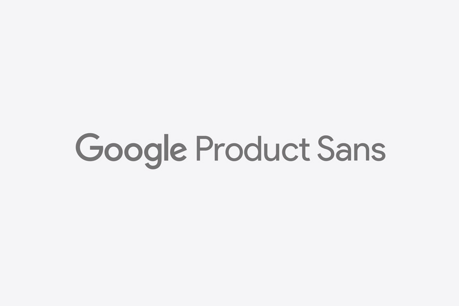 Product Sans a new corporate typeface for Google