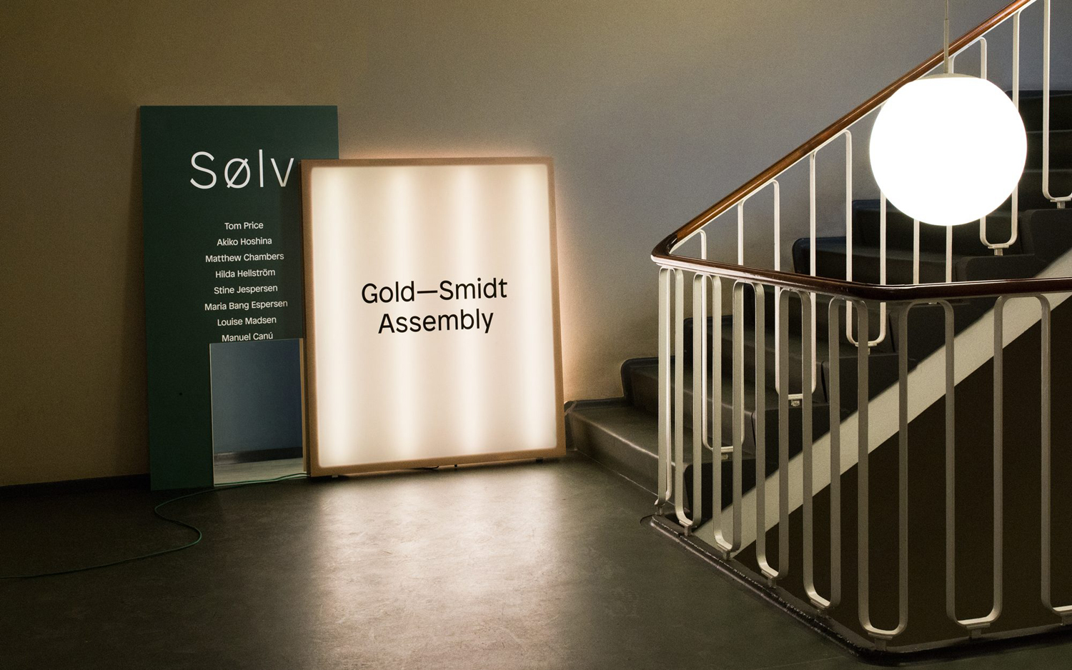 Sign Design – Gold—Smidt Assembly by Re-Public
