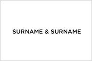 Logo - Surname & Surname