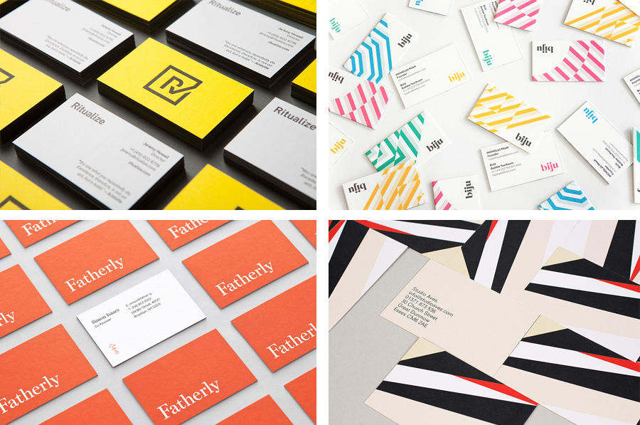 The Best Business Cards 2014