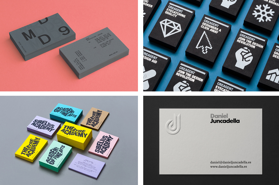 Business card design inspiration no4 bpo for Game designer business cards