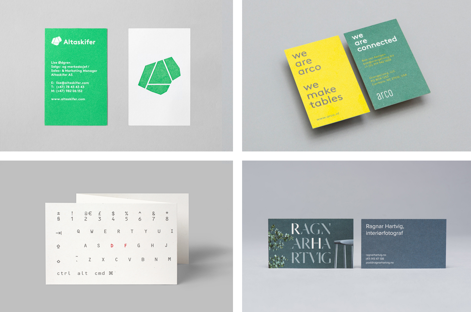 The Best of BP&O — Business Cards No.11