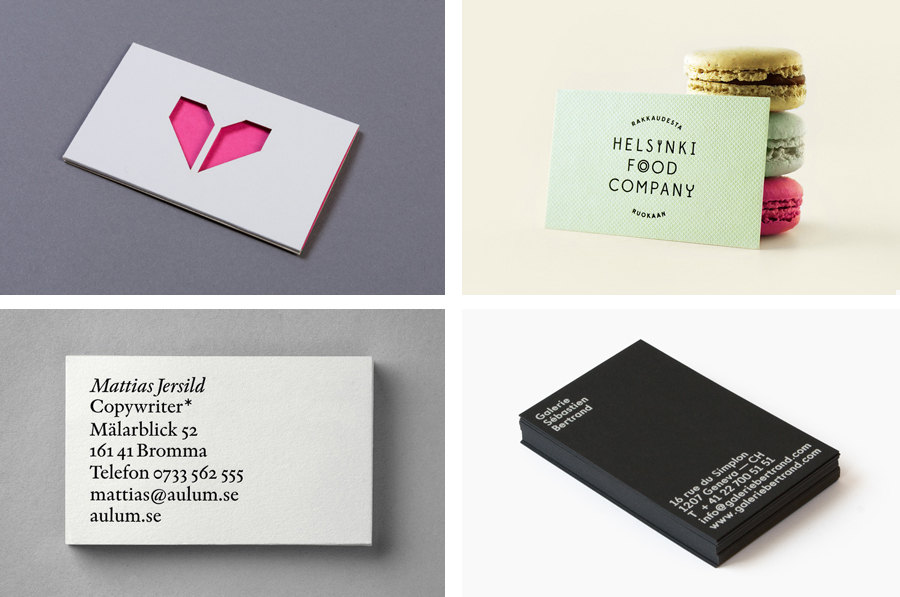 The Best Business Card Designs No 6 — BP&O