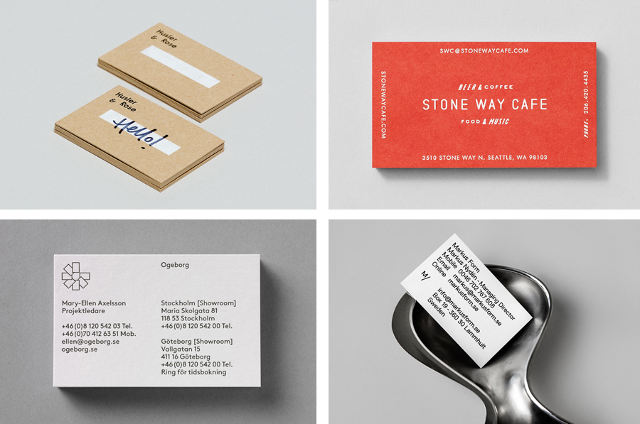 The Best Business Card Designs No 8 — BP&O