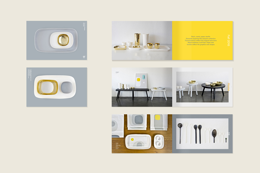 Tina Frey Designs product brochure by Mucho